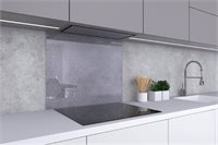 Brushed Stainless Steel Backsplash (23.6x27.6)